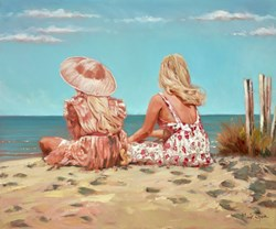 Looking Out to Sea III by Mark Spain -  sized 24x20 inches. Available from Whitewall Galleries